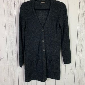 J. McLaughlin | gray superwash wool cardigan